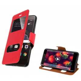 HOUSSE ETUI FOLIO SAMSUNG Galaxy Xcover 4 (Rouge)