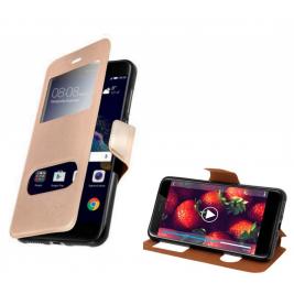 HOUSSE ETUI FOLIO SAMSUNG Galaxy Xcover 4 (Doré)