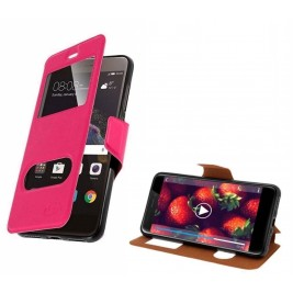 HOUSSE ETUI FOLIO SAMSUNG Galaxy Xcover 4 (Rose)