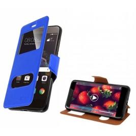 HOUSSE ETUI FOLIO SAMSUNG Galaxy Xcover 4 (Bleu)
