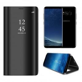 Etui Housse Clear View pour Samsung Galaxy S8 Noir