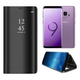 Etui Housse Clear View pour Samsung Galaxy S9 Noir
