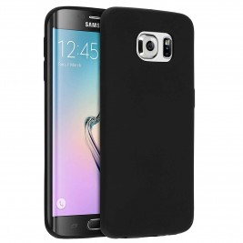 Coque Samsung Galaxy S6 Edge Silicone Gel Noir