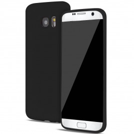 Coque Samsung Galaxy S7 Edge Silicone Gel Noir