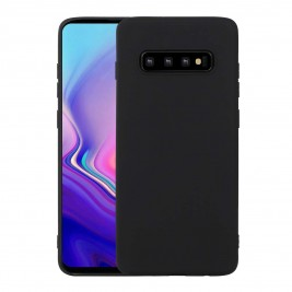 Coque Samsung Galaxy S10 Plus Silicone Gel Noir