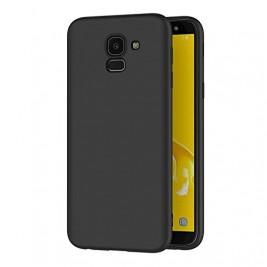 Coque Samsung Galaxy J6 2018 Silicone Gel Noir