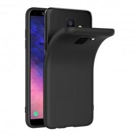 Coque Samsung Galaxy A7 2018 Silicone Gel Noir