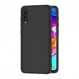 Coque Samsung Galaxy A70 Silicone Gel Noir