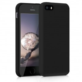Coque iPhone 5G Silicone Gel Noir