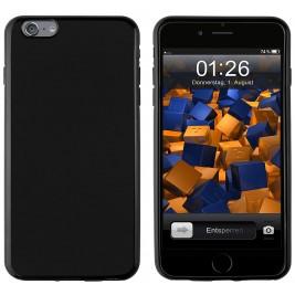 Coque iPhone 6G Plus Silicone Gel Noir