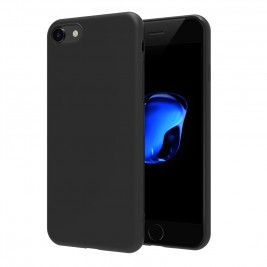 Coque iPhone 7G/8G Plus Silicone Gel Noir