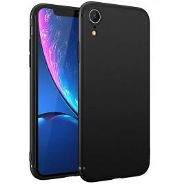 Coque iPhone XR Silicone Gel Noir