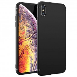 Coque iPhone XS MAX Silicone Gel Noir