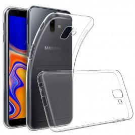 Coque Samsung Galaxy J6 Plus Silicone Transparente TPU