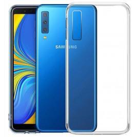 Coque Samsung Galaxy A7 2018 Silicone Transparente TPU