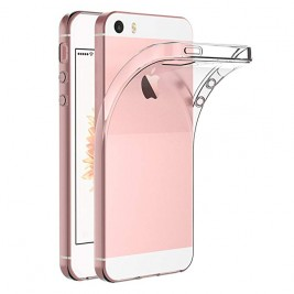 Coque iPhone 5G/S Silicone Transparente TPU