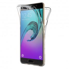 Coque 360 Degré Samsung Galaxy A3 2016 – Protection intégrale Avant + Arrière en Rigide, Housse Etui Tactile 360 degré
