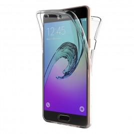 Coque 360 Degré Samsung Galaxy A5 2016 – Protection intégrale Avant + Arrière en Rigide, Housse Etui Tactile 360 degré