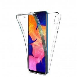Coque 360 Degré Samsung Galaxy A10 – Protection en Rigide, Housse Etui Tactile 360 degré – Antichoc, Transparent