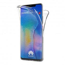 Coque Huawei Mate 20 Pro – Protection intégrale Avant  arrière en Rigide, Housse Etui Tactile 360 degré