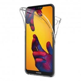 Coque Huawei P20 Lite – Protection intégrale Avant  arrière en Rigide, Housse Etui Tactile 360 degré