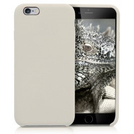 Coque iPhone 6G/S en Silicone Liquide Anti-Rayure Gris