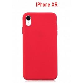Coque iPhone XR en Silicone Fin et Mince Noir