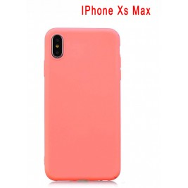 Coque iPhone Xs Max en Silicone Fin et Mince