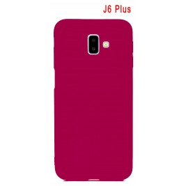 Coque Samsung Galaxy J6 Plus en Silicone Fin et Mince