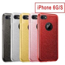 Coque Paillette iPhone 6G/S en Silicone avec Strass brillant
