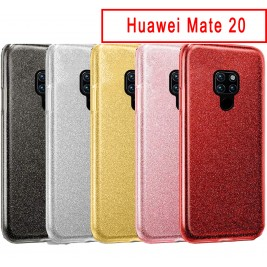 Coque Huawei Mate 20 Paillette en Silicone avec Strass brillant