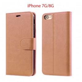 Etui à Clapet iPhone 7G/S et Pochette Portecarte Apple iPhone 6G/S Rouge