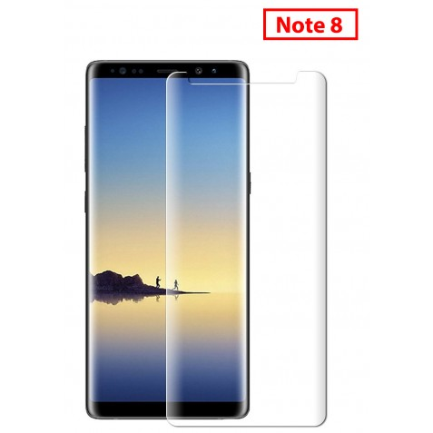 FILM DE PROTECTION INCURVE NOTE 8 (petit modele)