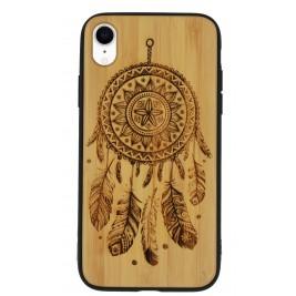 Coque iPhone XR en Bois Attrape Reve