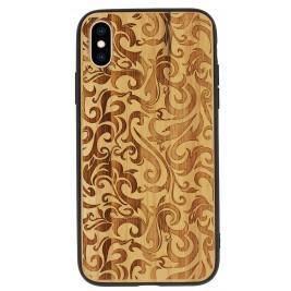 Coque iPhone XR en Bois Vague