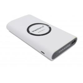 Batterie Externe - Power Bank 10 000 mAH avec Induction , Rechargeable sans fil.