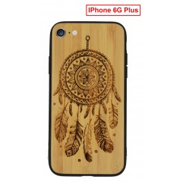 Coque iPhone 6G/S Plus en Bois Attrape Reve