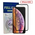 FILM DE PROTECTION Full Glue pour iPhone X/XS Noir