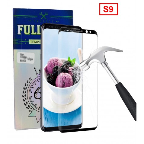FILM DE PROTECTION Full Glue pour S9 Noir