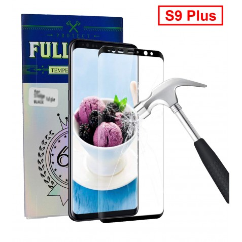 FILM DE PROTECTION Full Glue pour S9 Plus Noir