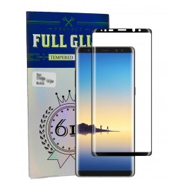 FILM DE PROTECTION Full Glue pour Note 8 Noir