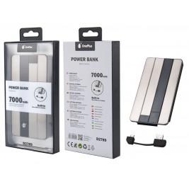 MTK Batterie Externe D2789 - Power Bank 7000 mAH avec un câble Micro USB