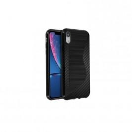 Coque iPhone X/Xs s-line en carbone Noir