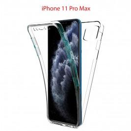 Coque 360 Degré iPhone 11 PRO Max- Protection intégrale Avant  Arrière en Rigide, Housse Etui Tactile 360 degré
