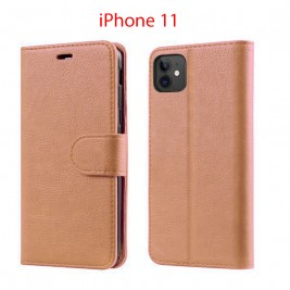 Etui à Clapet iPhone 11 et Pochette Portecarte Apple iPhone 11 Rose