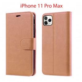 Etui à Clapet iPhone 11 Pro Max et Pochette Portecarte Apple iPhone 11 Pro Max Noir