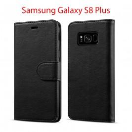 Etui à Clapet S8 et Pochette Portecarte Samsung Galaxy S8 Noir