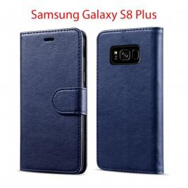 Etui à Clapet S8 Plus et Pochette Portecarte Samsung Galaxy S8 Plus Bleu