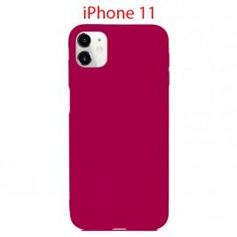 Coque iPhone 11 en Silicone Fin et Mince Violet