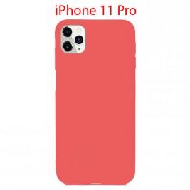 Coque iPhone 11 Pro en Silicone Fin et Mince Rose